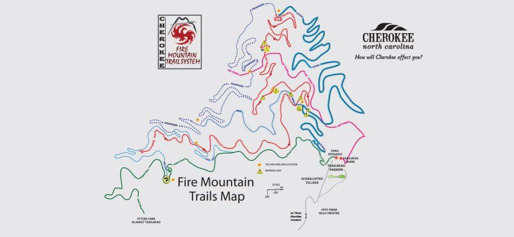 cherokee mountain biking